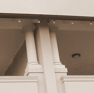 Concrete Columns use at Balcony